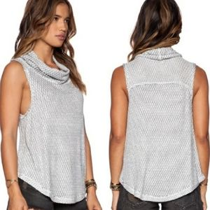 We The Free Timber Cowl Sleeveless Top